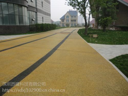 济南市 市中区 彩色混凝土 15864025852