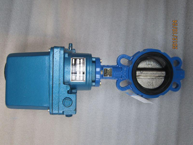 厂家直销电动对夹蝶阀、D971X-16蝶阀、给排水、化工专用蝶阀