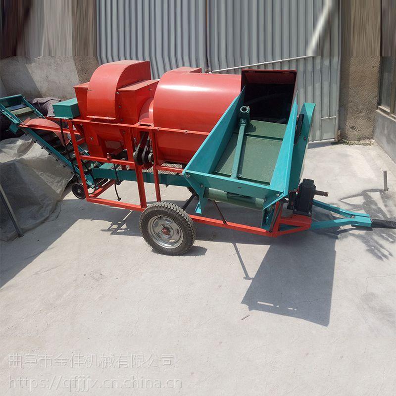 干湿两用摘果机 干花生脱秧机 摘果去秧机金佳机械