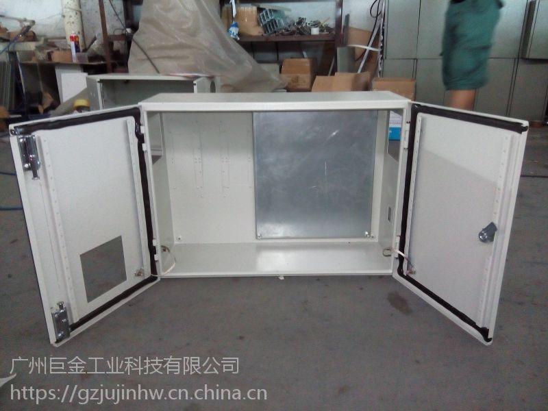 广州巨金厂家 定制IP66钢板 型号302515 电控箱电源 防水配电箱