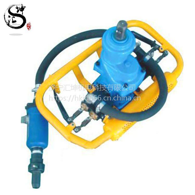 厂家直销ZQSJ-140/4.1架柱支撑手持式气动钻机 气动探水钻机