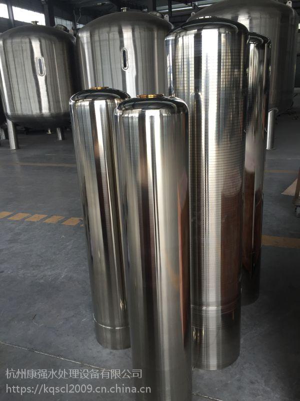 配润新2.5寸自动阀 D250*1220mm 不锈钢软化罐外壳