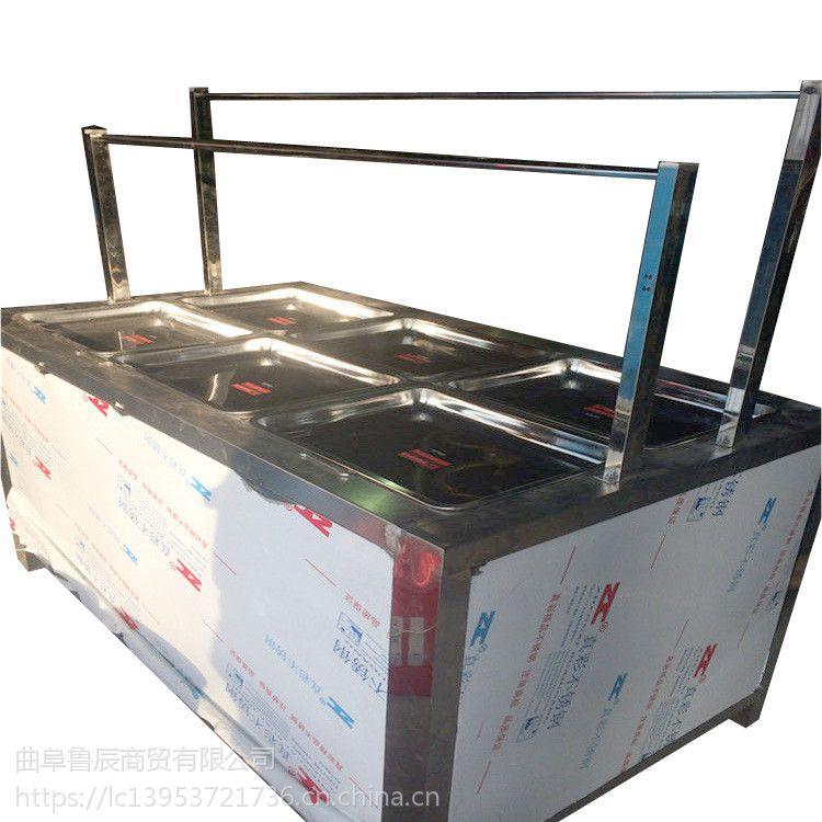 商用腐竹机多少钱一台 六盒手工豆皮机哪里好