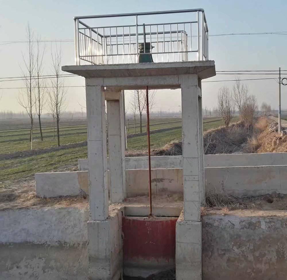 宇东水利供应1.4米*1.4米渠道/涵洞/箱涵铸铁闸门