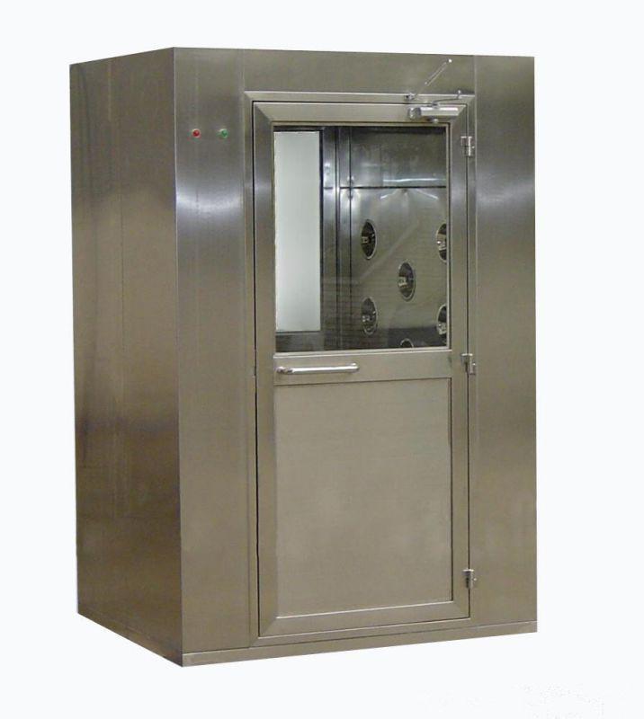 诸城正康食品机械厂家供应全自动风淋室 不锈钢车间除尘风淋通道 可定制