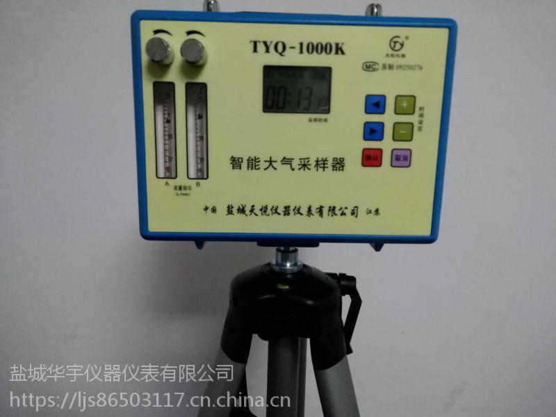 盐城环宇TYQ-1000K便携式双通道大气采样仪 气体分析仪 粉尘采样器