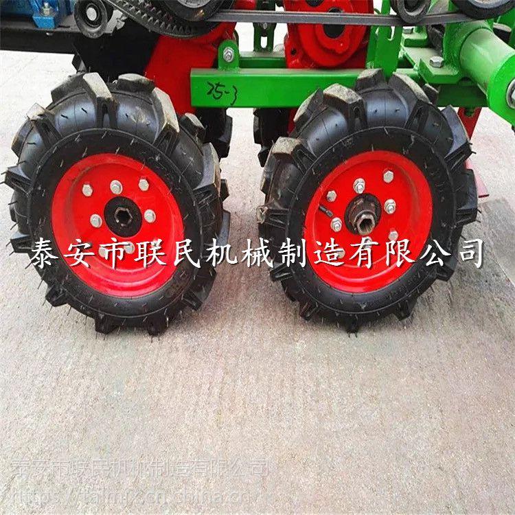 联民直销 前置大蒜收获机收1.3米挖蒜机 多功能小四轮车大蒜收获机