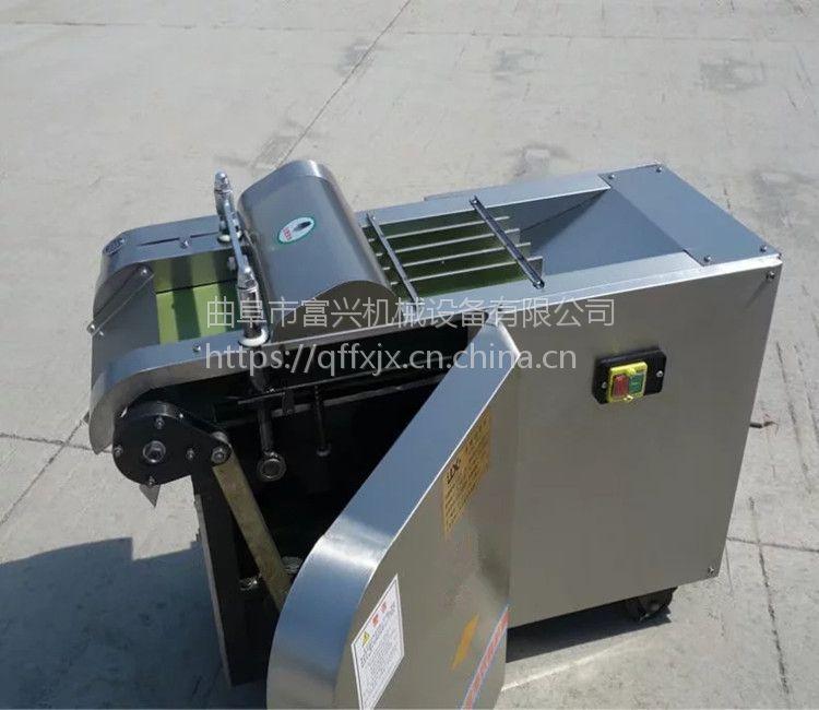 富兴蘑菇切菜机厂家 660型多功能切菜机 商用电动切片机