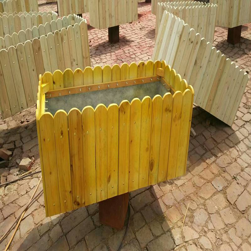 经销实木花箱正品,组合花箱售后保证,厂价批发