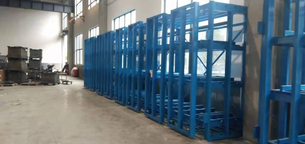 南昌金属板存放货架 ZY030805 抽屉式货架图纸 板材架定做