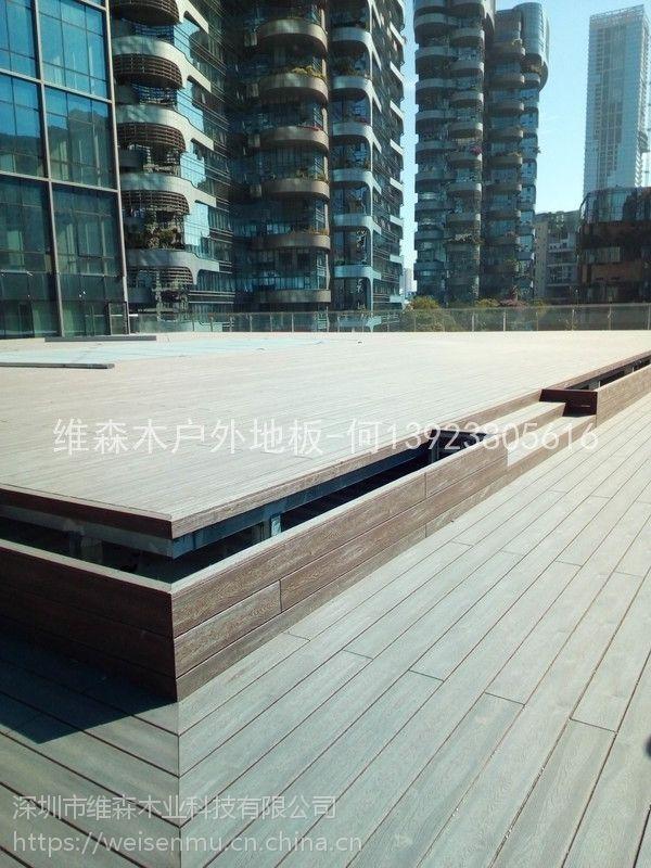 广州户外地板厂家供应优质10020新型防腐防霉码头栈道地板