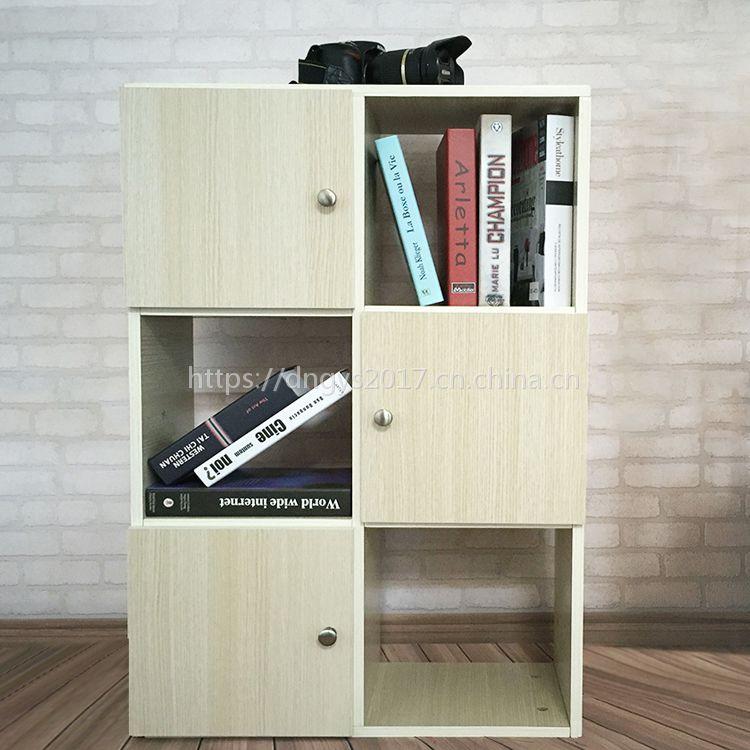 创意书架书柜自由组合学生简约现代书橱客厅置物落地儿童书柜可定制来样加工