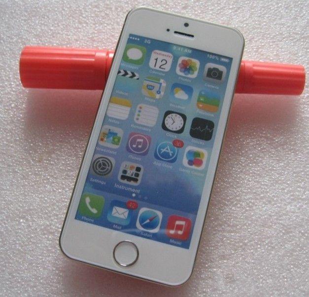 iPhone5S苹果手机模型5S苹果展示模具机模iphone5s白蓝屏样板图片