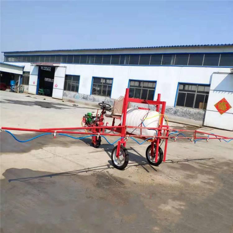直销自走式打药机 圣鲁高压汽油喷雾器 农用麦田喷药机