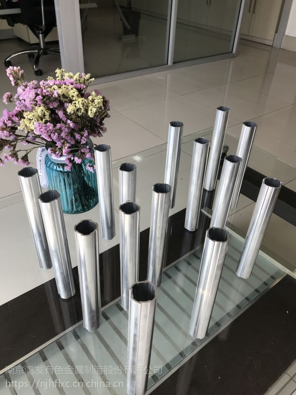 厂家直销第三代铝合金线棒精益管φ28×1.31.51.7mm 开模定制
