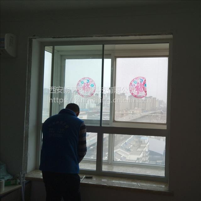 西安欣美静推拉隔音窗隔音玻璃说明