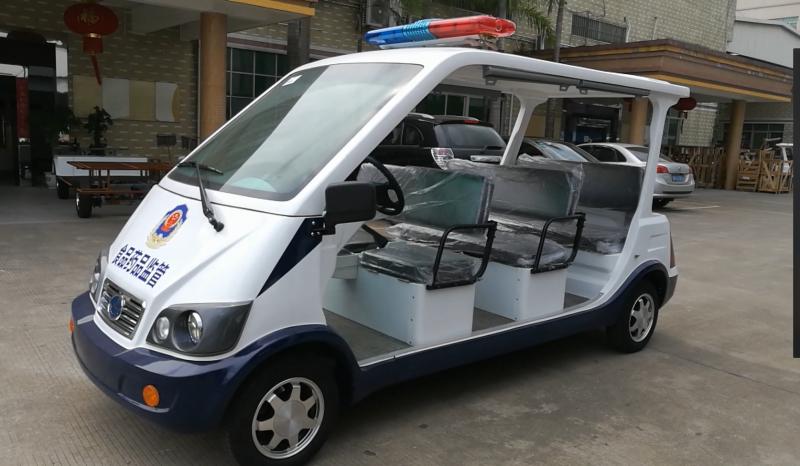 凯驰8座电动巡逻车、治安巡逻车、四轮巡逻车