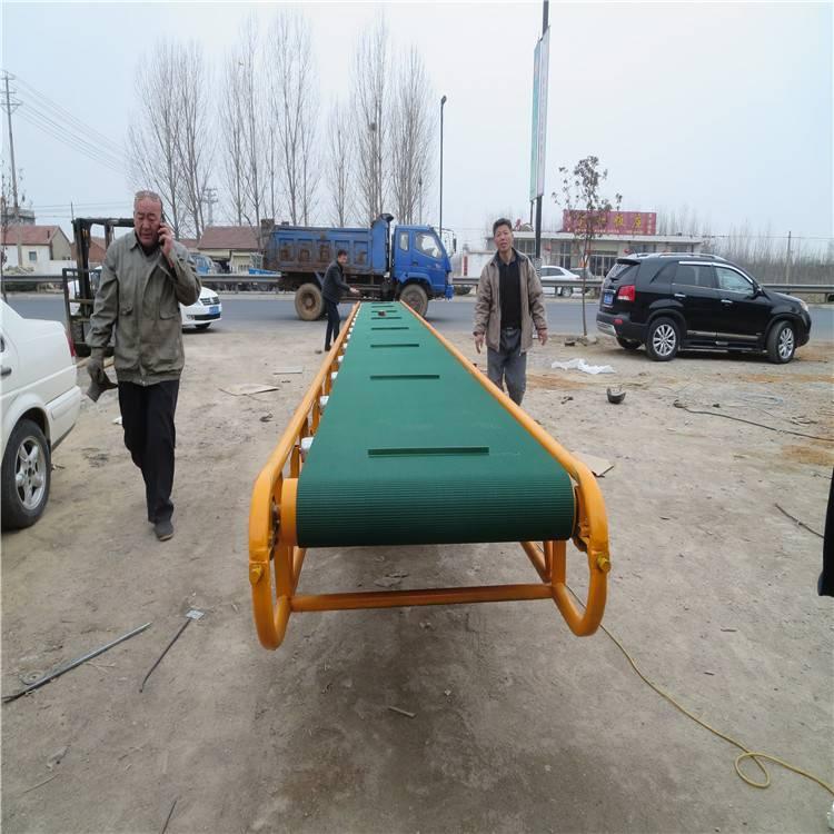 10米长皮带输送机 坚固耐用带式输送机 可定做各种规格输送带