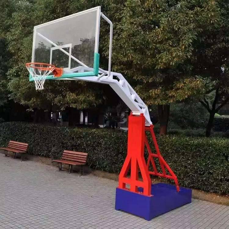 篮球架报价 户外健身器材篮球架价格 河北利伟体育