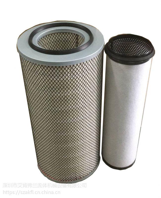 美国寿力原厂正品空滤芯配件88290002-337