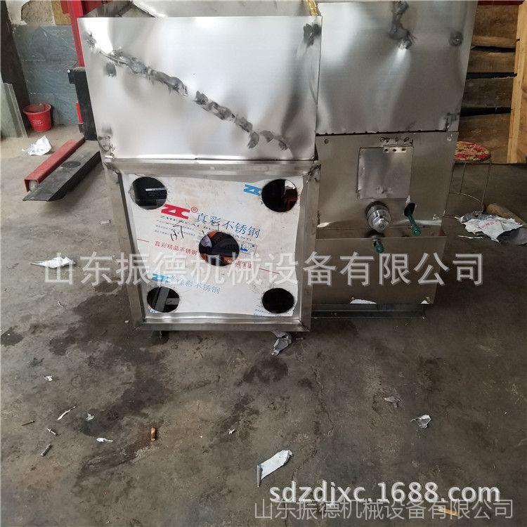 小型面粉膨化机 贵州哪里卖 曲阜振德自动切断膨化机  糖酥果机