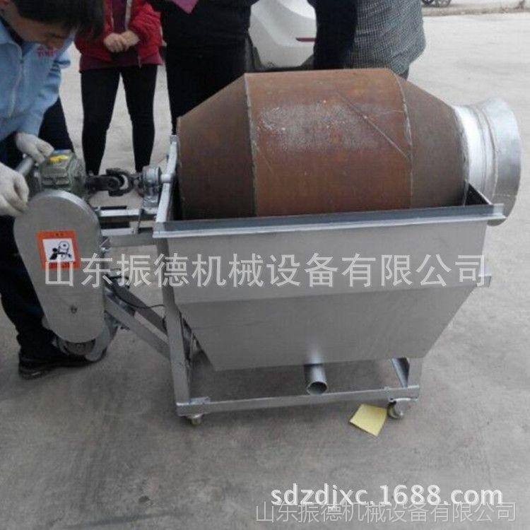 多功能板栗炒货机 振德牌 花生瓜子滚筒炒货机 小型电热炒货机