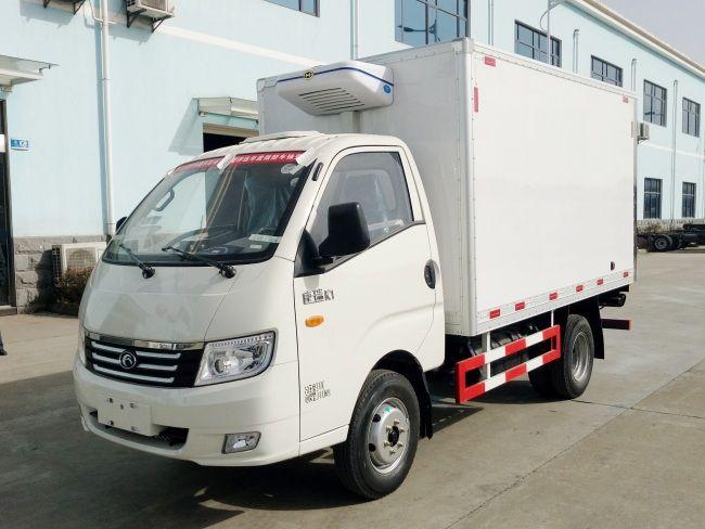 装2吨货的冷藏车在什么价位