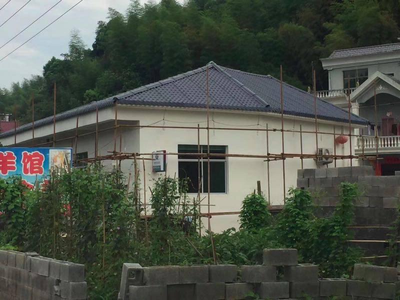 四川巴中树脂瓦 彩钢瓦屋顶 别墅房顶琉璃瓦 围墙仿古琉璃瓦