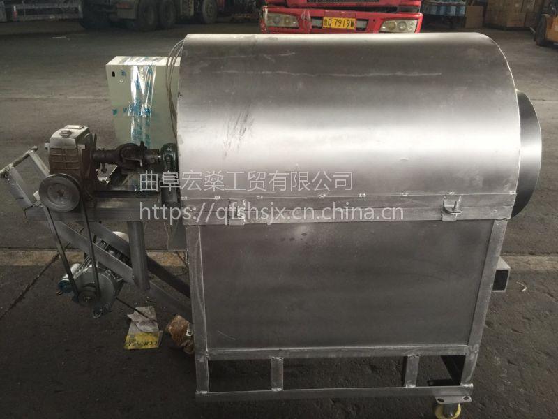 大型板栗炒货机 多功能不锈钢炒货机价格