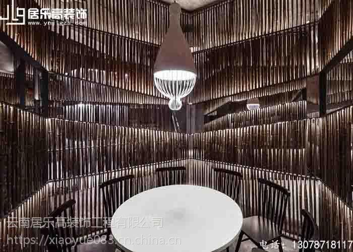 看空间魔术师如何将餐厅与自然融合在一起,2018昆明居乐高装饰公司装修案例!