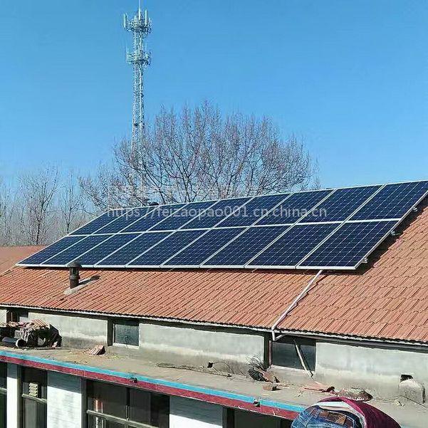 沧州 武安哪里批发双面单晶292瓦太阳能发电板批发 双面电池板比普通单晶硅发电效率