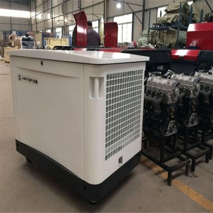 厂房备用25千瓦多燃料汽油发电机