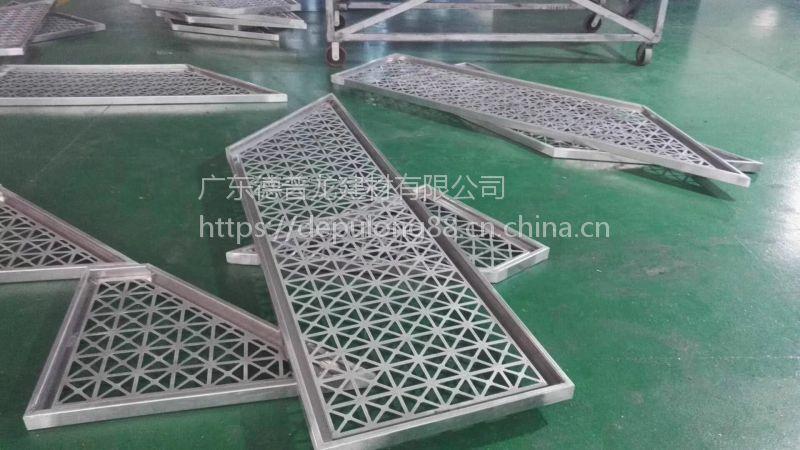 城区市政府工程镂空铝单板_墙身2.5mm厚国标铝制品!