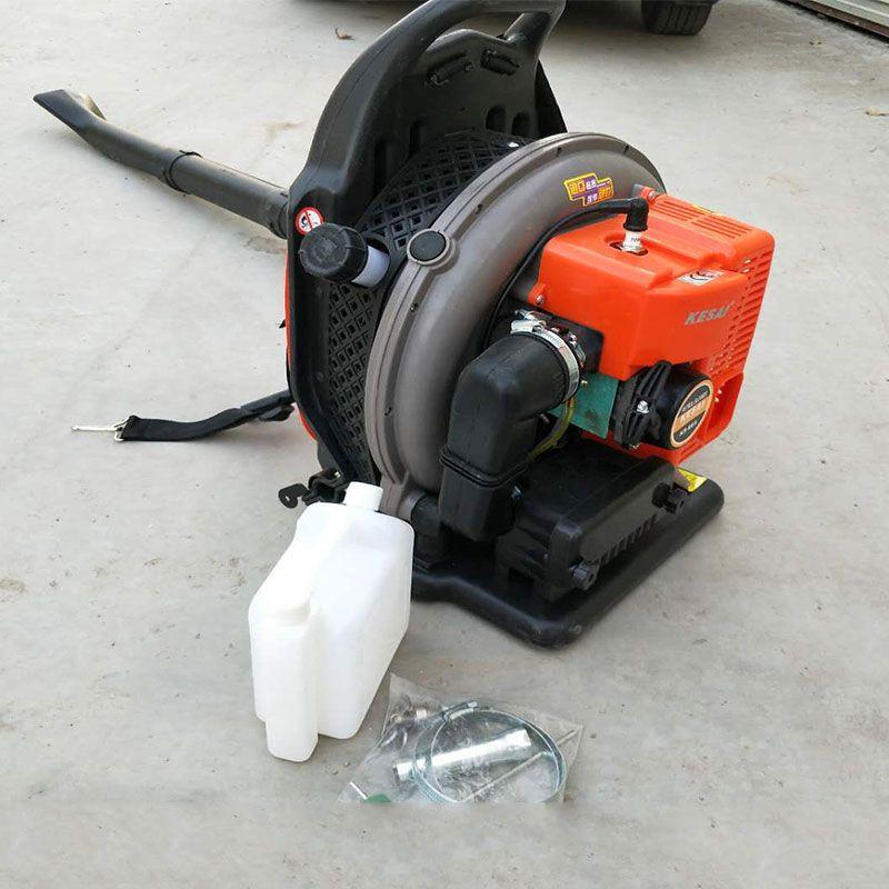 汽油动力背负式吹风机价格 佳鑫牌树叶垃圾吹风机有操作视频