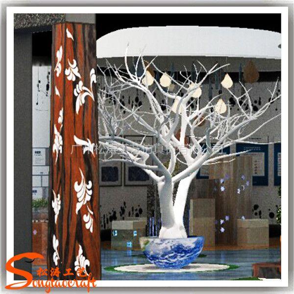 仿真枯树枝 仿真植物 装饰树假树枝 干枯树 艺术造型树
