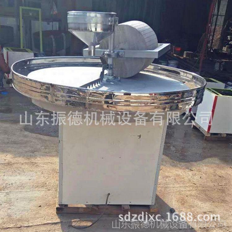 石碾子 多功能电动石碾机  老式手推石碾 传统工艺 杂粮石磨机