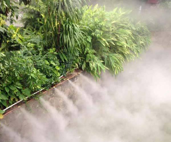 供应人造雾设备 景观人工造雾 园林喷雾雾化系统 工程施工