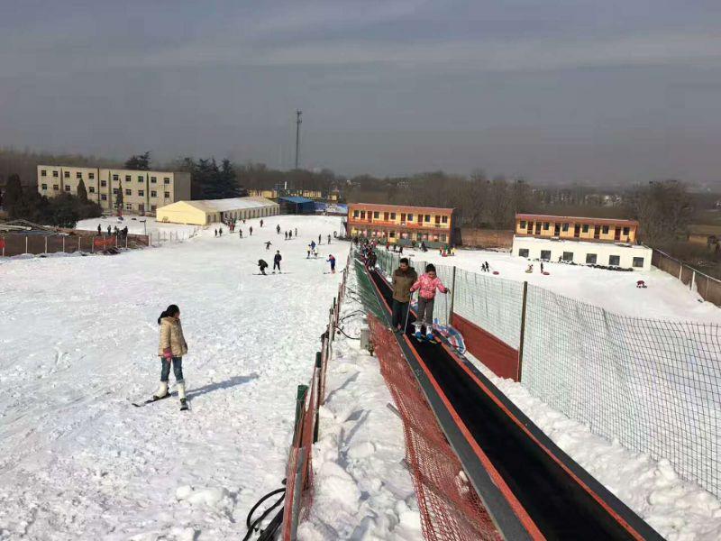 实力滑雪魔毯厂家供应诺泰克滑雪魔毯