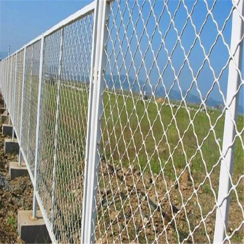 养殖护栏网 主动防护网 网球场防护网