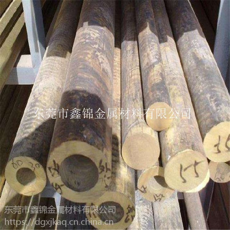 高韧性磷青铜棒 高强度CuSn5铜管 CuSn5磷青铜成分