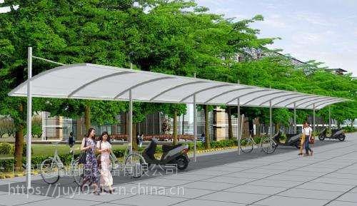 上海浦东海潮膜结构车棚*海潮膜结构车棚结构简单自洁好