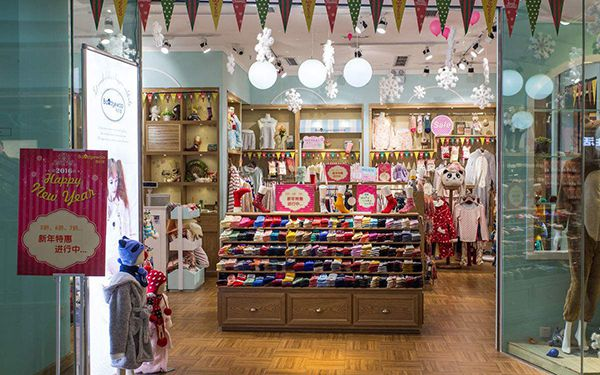 合肥童装店如何装修设计?童装店装修风格决定童装店档次