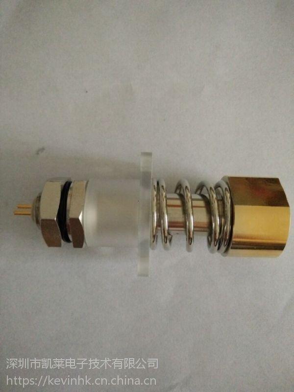 香港智仁进口大电流弹簧测试针 hcp200-b06铍铜测试探针 200a动力电池探针