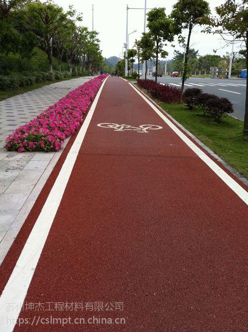 陕西省 彩色路面喷涂 彩色沥青路面颜色修复
