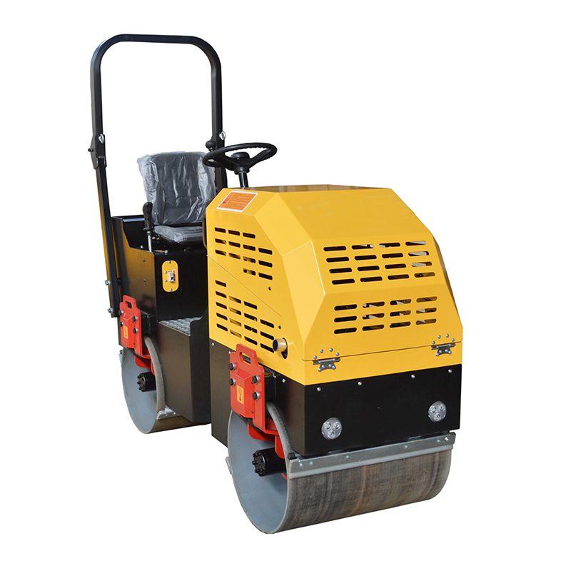 1吨小型压路机 全液压2吨双钢轮压实机 柴座驾压路机