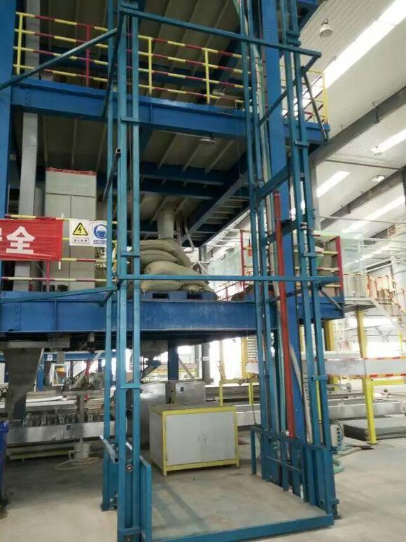 二层升降货梯厂家 两层液压货梯价格 2层导轨货梯行情
