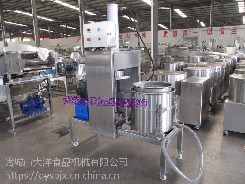 姜芽压榨成汁设备 YZ型酸豆角压滤机资料