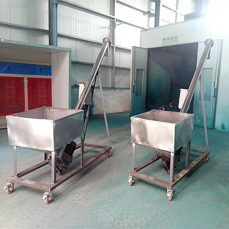 [都用]平山县石子螺旋提升机 活性炭螺旋提升机 管式上料机价格