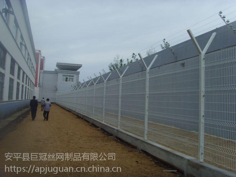 监狱围墙护栏网 机场监狱护栏网 浸塑监狱护栏网