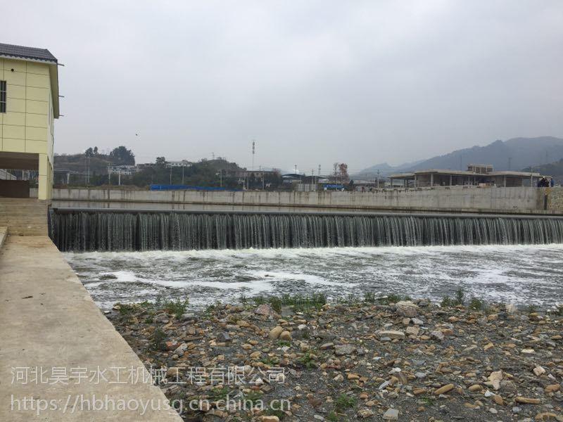 河北省昊宇水工泄洪钢坝闸门加工定制厂家直销